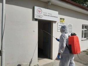 Sağlık ocakları her gün dezenfekte ediliyor