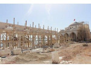 Finike Eroğlu Nuri Cami inşaatında sona doğru