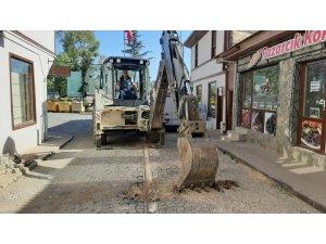 Pazaryeri Belediyesi üst yapı çalışmalarına başladı