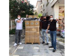 Salihli Beşiktaşlılardan gıda kolisi desteği