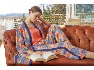 Pijama modası bu yaz pembe