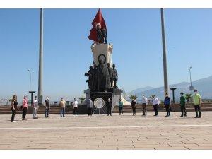 İskenderun'da Sosyal Mesafeli Gençlik Haftası etkinliği