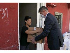 Vakıflar Bölge Müdürlüğü'nden ihtiyaç sahiplerine kuru gıda yardımı