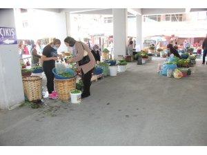 Devrek'te köylü üreticilere ürünlerini satma izini verildi