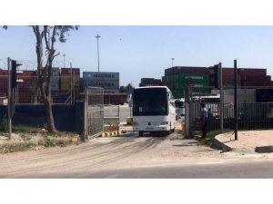 KKTC'den gelen 173 vatandaş karantinaya alınmak üzere Adıyaman'a gönderildi