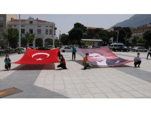 Manisa'da Gençlik Haftası törenle başladı