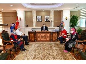 Başkan Yeşiloğlu, Vali Gürel'e çalışmalar hakkında bilgi verdi