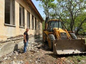 Kullanılmayan okul binası muhtarlık oldu