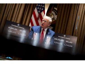 Trump, tartışmalara neden olan hidroksiklorokin ilacını kullanmayı bırakacağını açıkladı