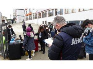 Trabzon'da yurtlarda karantinadan ötürü kimse kalmadı