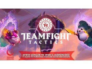 Aydın'da TFT turnuvasına büyük ilgi