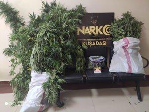 Kuşadası'nda lüks villayı uyuşturucu imalathanesine çevirmişler