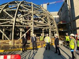 İstanbul'daki yeni AKM'nin kaba inşaatının yüzde 95'i tamamlandı