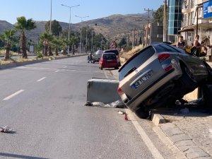 Kazaya sebep olan sürücü kaçtı