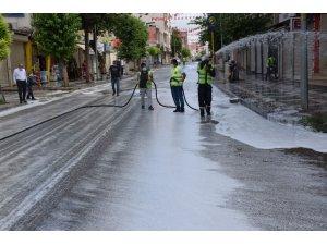 Viranşehir Belediyesi'nden bayram temizliği