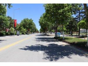 Malatya'da sokaklar boş kaldı