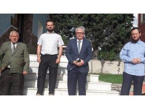 Afyonkarahisar İl Müftüsü Şükrü Kabukçu veda ziyaretinde
