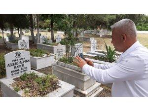 Muhtardan görüntülü mezarlık ziyareti hizmeti