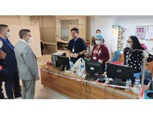 Van İl Sağlık Müdürü Doç. Dr. Sünnetçioğlu'ndan bayram ziyaretleri