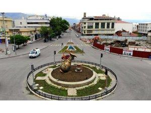 Sokağa çıkmakısıtlamasının dördüncü gününde  de Erzincan sessiz