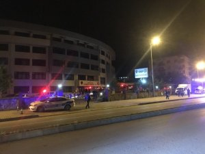 Sinop İl Emniyet Müdürlüğü binasında yangın