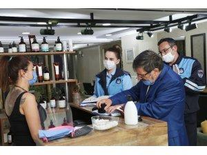 Atakum'da güzellik merkezlerine 'bakım ve makyaj' uyarısı