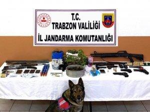 Trabzon'da uyuşturucu çetesine şok baskın