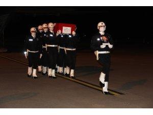 Şehit polis Atakan Arslan'ın cenazesi Samsun'da