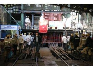 Zonguldak'ta maden işçileri üretime başladı