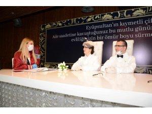 Eyüpsultan'da yeni nikah tarihi için müracaatlar başladı