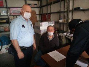 Esnaflar, polis ve zabıta ekipleri tarafından bilgilendirildi