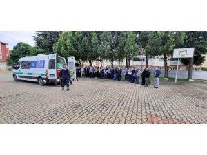 Görev başında kalp krizi geçiren Jandarma uzman çavuşa veda