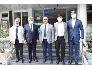 İYİ Parti Genel Merkezinden Başkan Kaya'ya destek ziyareti