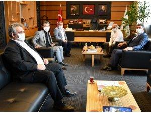 MHP'den Başkan Oral'a ziyaret