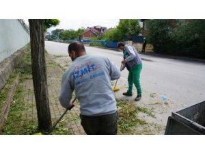 İzmit Belediyesi'nden Sanayi Mahallesi'nde yoğun çalışma