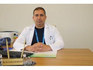 Erzincan'da son 1 ay içerisinde 17 hasta KKKA şüphesiyle tedavi gördü
