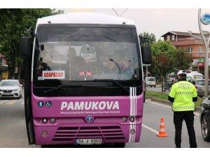 Toplu taşımada yüzde elli kuralı kalkınca polis ekipleri denetimlerini arttırdı