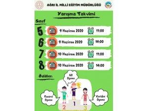 """Ağrı'da ortaokul öğrencilerine yönelik """"Online Bilgi Yarışması"""""""
