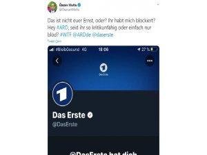 Alman ARD kanalından milletvekili Özcan Mutlu'ya Twitter engeli