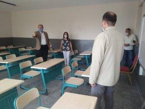 İl Milli Eğitim Müdürü Okumuş, LGS hazırlıklarını yerinde inceledi