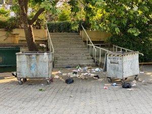 Yeni normalin' ardından Caddebostan sahili çöp doldu: Özellikle şu dönemde hijyenik bir şey değil