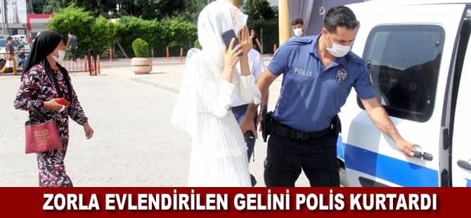 Adana'da zorla evlendirilmek istenen kadın nikah salonundan polis baskınıyla kurtarıldı