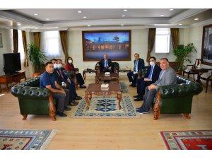 Oda Başkanlarından Vali Öner'e ziyaret