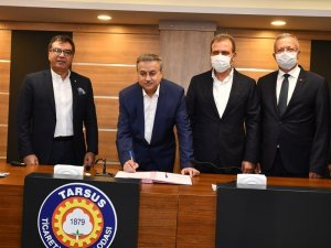 MTOSB ile Tarsus OSB arasında 'Kardeş OSB protokolü' imzalandı