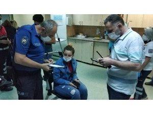 Uzaklaştırma kararı bulunan kardeşinin silahlı saldırısında yaralandı