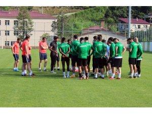 Giresunspor, BB Erzurumspor karşılaşmasına hazırlanıyor
