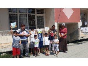 Muhtardan çocuklara 500 adet kitap