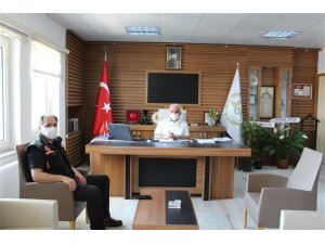 AFAD İl Müdürü Demirel'den İl Müftüsü Erhun'a ziyaret