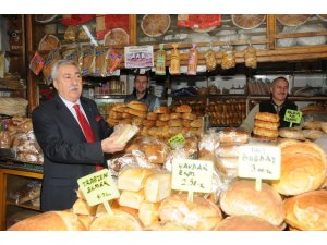 """Palandöken: """"Günde 7 milyon adet ekmek israfı yapılıyor"""""""