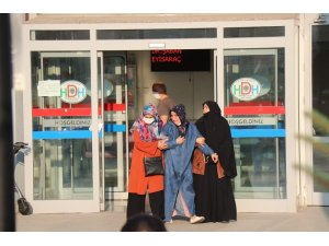 Bakanlar patlamada yaralanan vatandaşları hastanede ziyaret etti
